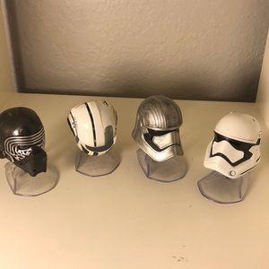 Star Wars metal helmets
